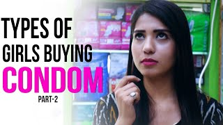 Types of People Buying Condoms Part 2 Feat. U Dictionary || Aashiv Midha