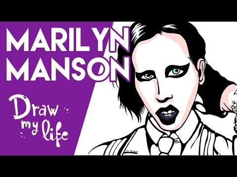LA VIDA DE MARILYN MANSON - Draw My Life en Español