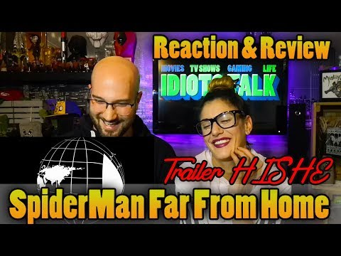 SpiderMan Far From Home Trailer HISHE - Reaction & Review