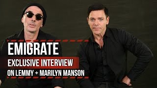 Emigrate Discuss Lemmy + Marilyn Manson Contributions
