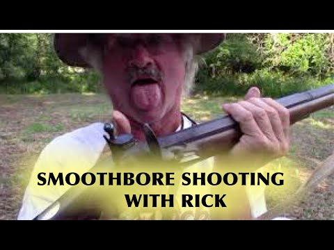 Flintlock Smoothbore Shooting  With Rick ( French Fusil )