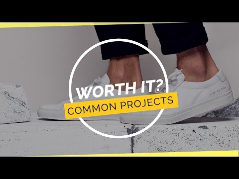worth it? common projects achilles low youtube womens platform white sneakers new trending shoes for women c21