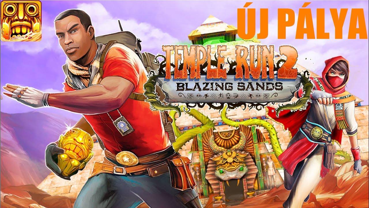 Temple Run 2 - Blazing Sands - YouTube