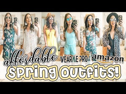AFFORDABLE SPRING OUTFITS | AMAZON, WEARMEPRO, & TARGET!