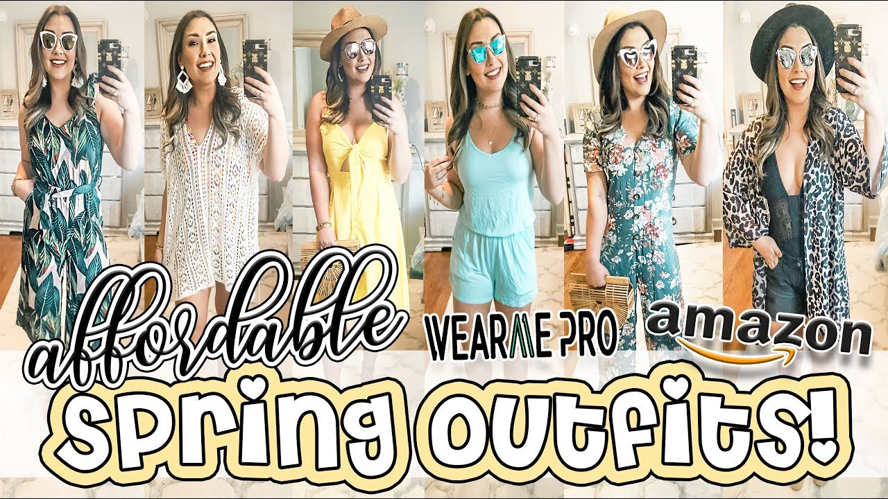 AFFORDABLE SPRING OUTFITS | AMAZON, WEARMEPRO, & TARGET! 4