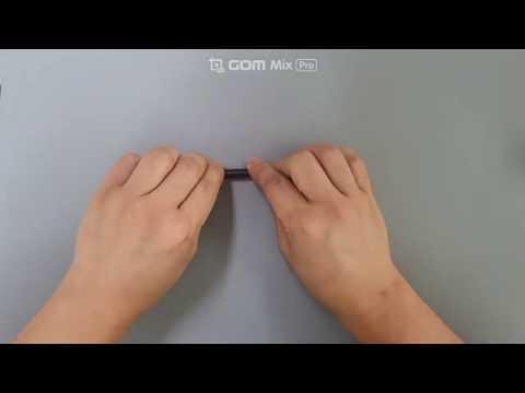 갤럭시탭S6 라이트 투명 보호필름 부착영상