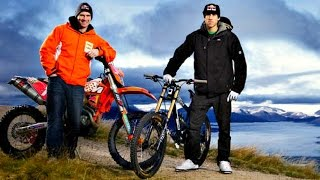 ENDURO vs MTB Downhill || David Knight vs Gee Atherton BEST RACE !! 2015