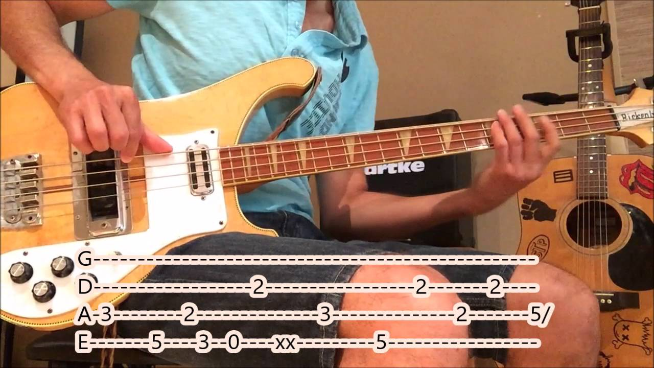 Twenty One Pilots Heathens Bass Cover With Tabs Youtube