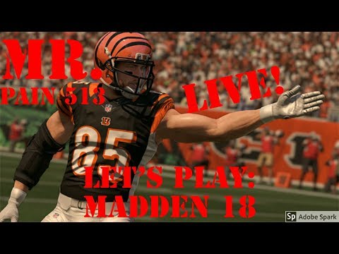 Live PS4: Madden 18 G.O.A.T. - Grinding For That SuperBowl Ring (Goal: 700 subs)