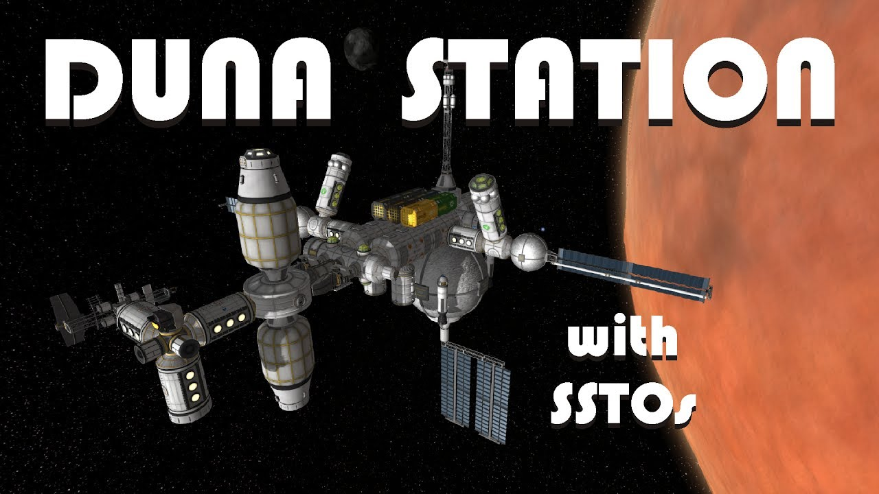 Download Building a Duna Space Station with SSTOs! - KSP 1.2.2