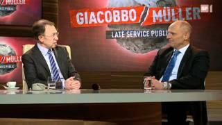 Giacobbo/Müller mit Alfred Heer & Hanspeter Müller-Drossaart