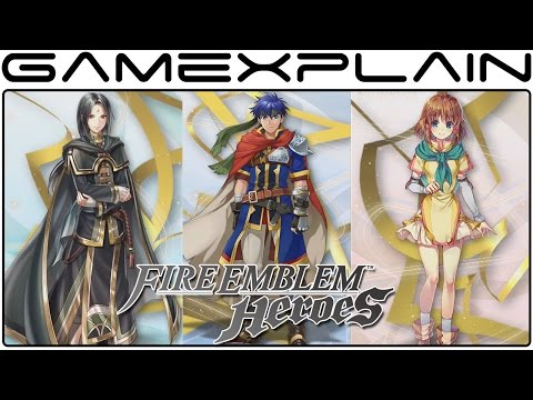 Fire Emblem Heroes - World of Radiance Heroes Trailer