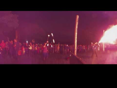 Townland carnival 2016 fire show 360 degree