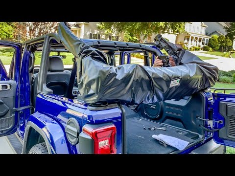 New 2018, 2019 Jeep Wrangler How to Install Soft Top JL , JLU