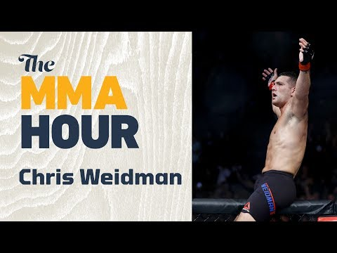 Chris Weidman Says He'd 'Slap' Michael Bisping 'In His Mouth