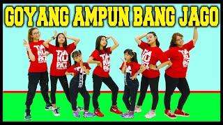 Download lagu GOYANG AMPUN BANG JAGO - VERSI CEWEK - DANCE JOGET ZUMBA SENAM - LAGU D3MO BURUH OMNIBUS LAW TIK TOK