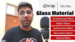 Architectural V-ray Glass Mate…