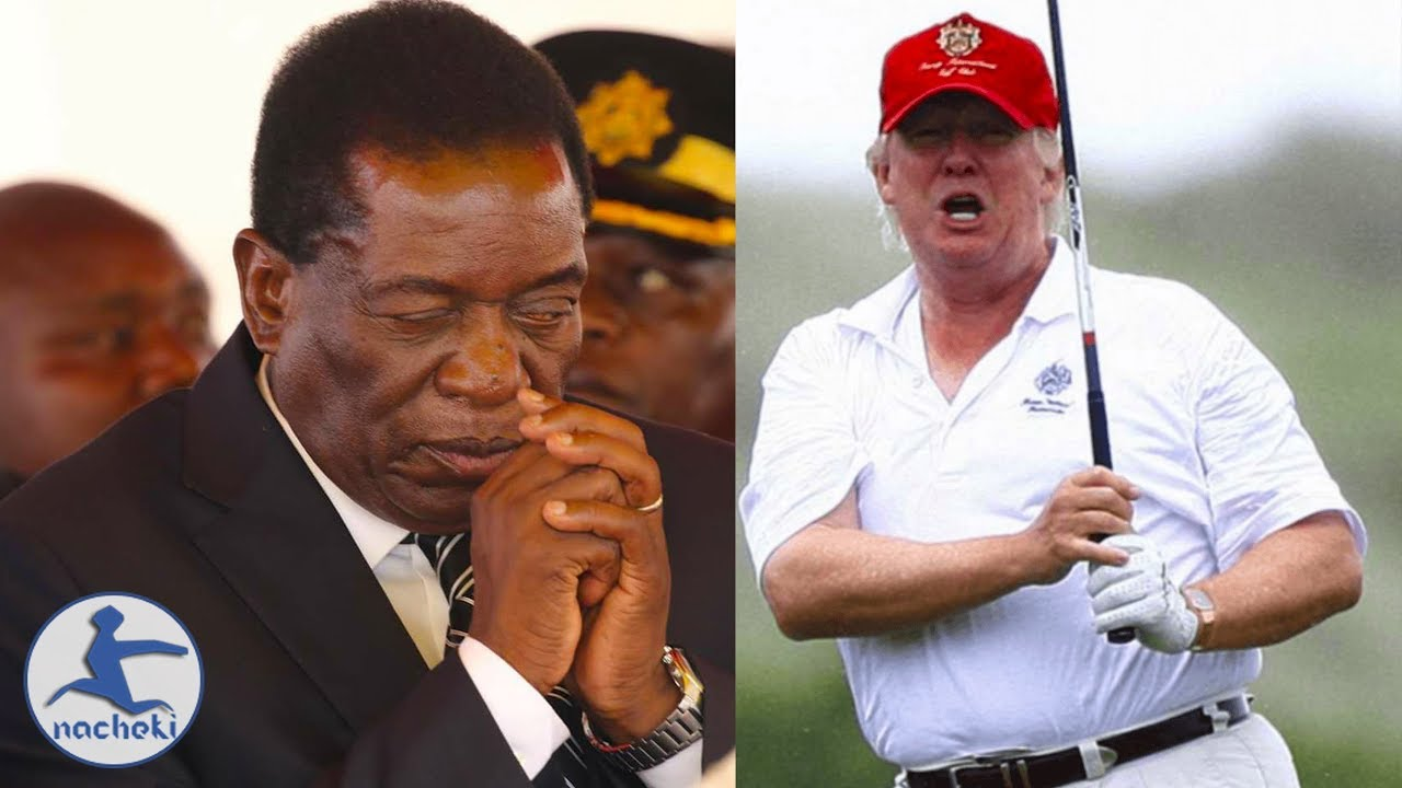 Zimbabwe President Offers President Trump Golf Course in Victoria Falls