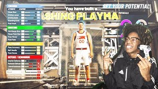 I FOUND THE BEST DRIBBLE GOD BUILD! SLASHING PLAYMAKER BUILD IS OVERPOWERED IN NBA 2K20