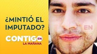 Caso Fernanda Maciel: Las contradicciones de Felipe Rojas  - Contigo en La Mañana