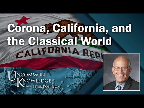 Victor Davis Hanson on Corona, California, and the Classical World