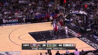 LA Clippers vs San Antonio Spurs - Full Highlights | Game 3 | April 24, 2015 | 2015 NBA Playoffs