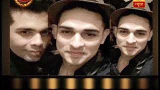 Saas Bahu Aur Saazish: Priyank Sharma meets Karan Johar at Shah Rukh Khan's party