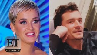 Orlando Bloom Watches Katy Perry Flirt On 'American Idol' thumbnail