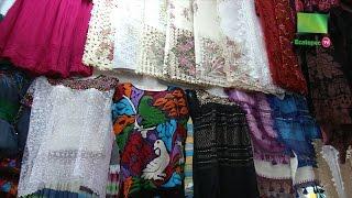 Artesanos textiles originarios de Oaxaca ofertan sus artículos en Ecatepec