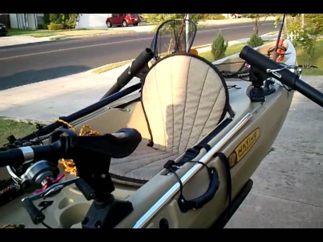 Native Manta Ray Angler Kayak- Night Fishing Ready