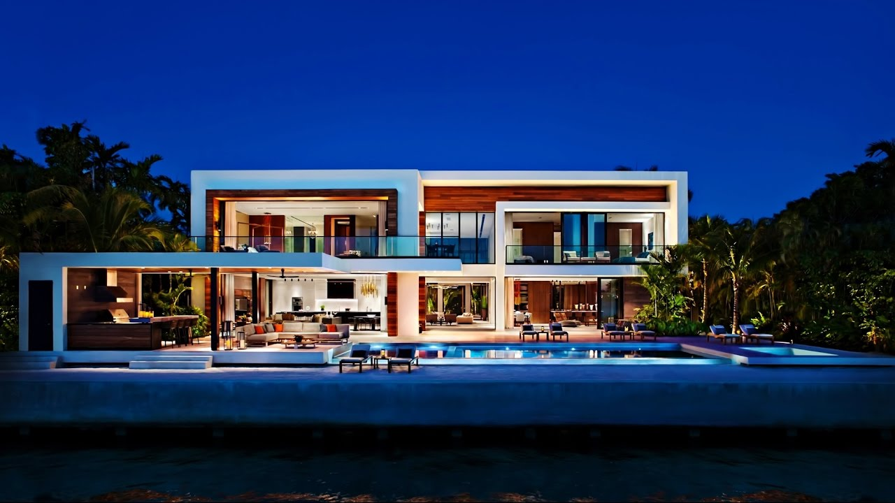 Ordinaire Stunning Distinctive Modernist Contemporary Luxury Residence In Miami  Beach, Florida, USA   YouTube