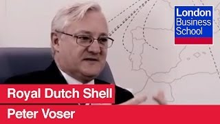 Profile: Peter Voser, Chief Executive Officer, Royal Dutch Shell | London Business School