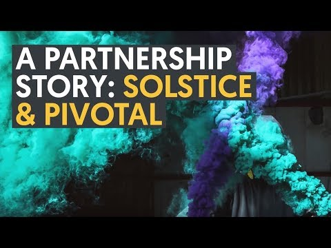 A Partnership Story: Solstice & Pivotal