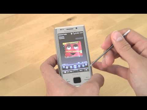 Sony-Ericsson Xperia X2 Test Musikplayer