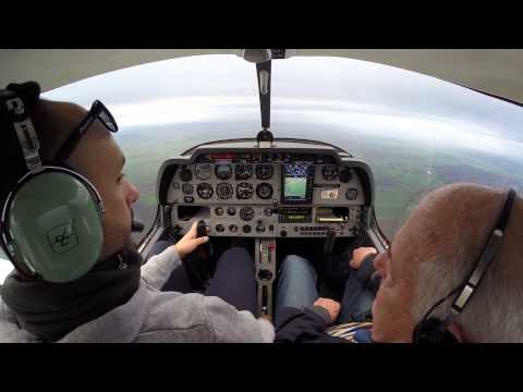 Lesson 12 - Private Pilot Licence training at LFGR - Turns, Climbs and Descents with strong wind
