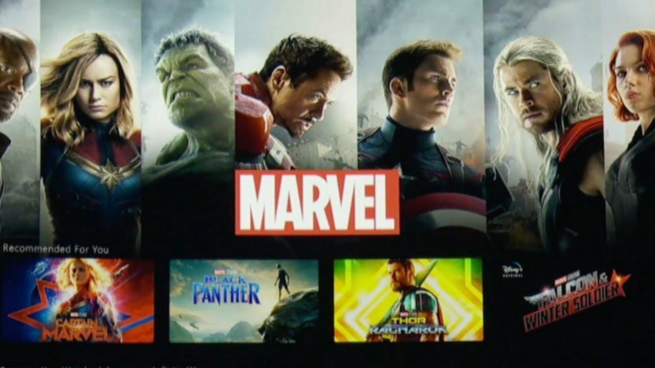 Marvel Filme Disney Plus