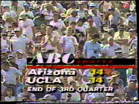 UCLA Football v Arizona 1990 3rd & 4th Qtr