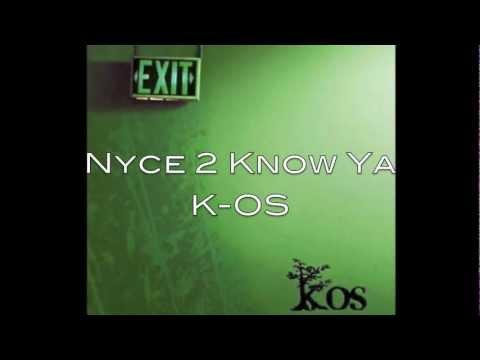 Nyce 2 Know Ya-K-OS lyrics (Nice To Know You)