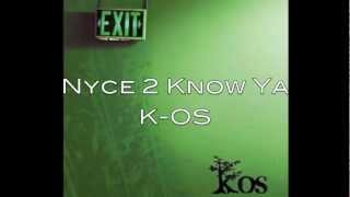 Nyce 2 Know Ya-K-OS lyrics (Nice To Know You)