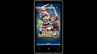 Clash Royale For Windows Phone 8/8.1/10