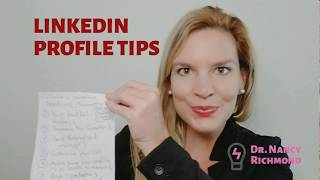 Top 10 LinkedIn Profile Tips