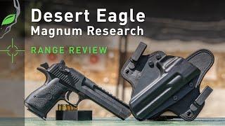 Desert Eagle By Magnum Research Gun Review | Alien Gear Holsters