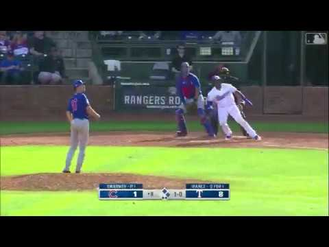 Rangers Vs Cubs Highlights Spring Training 2/27/20