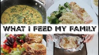 WHAT I FEED MY FAMILY IN A WEEK | 5 FAMILY  MEAL IDEAS | KERRY WHELPDALE