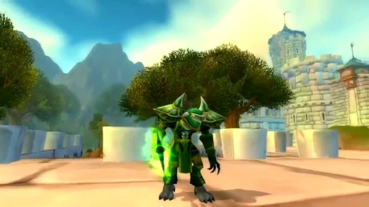Emerald Plate Transmog Youtube