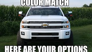 HOW I COLOR MATCHED MY TRUCK