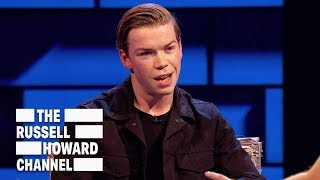 Will Poulter couldn't stop talking gibberish to Brad Pitt - The Russell Howard Hour thumbnail