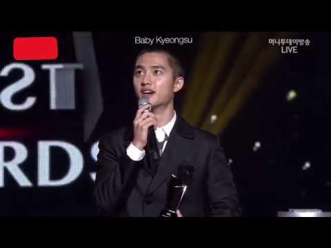 171115 [ Eng Sub ] AAA ( Asian Artist Award ) EXO D.O Won Popularity Award