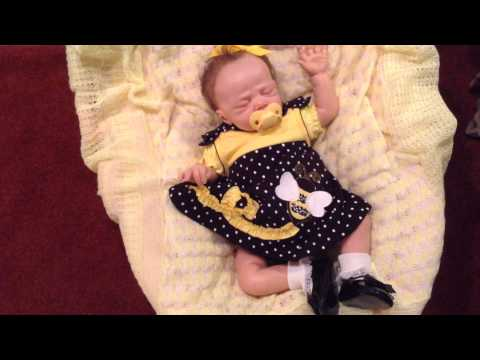 """Theme Thursday """"Flying""""with Lillie Beth, Reborn Baby Doll"""