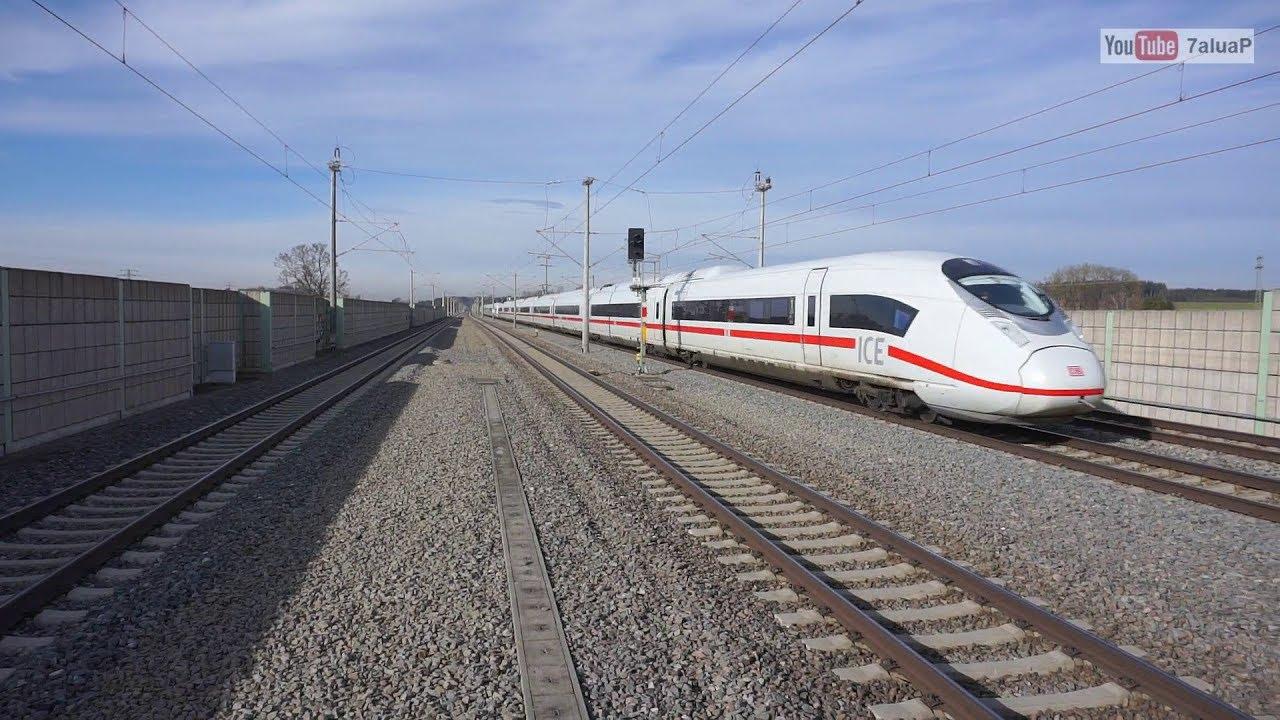 ICE Streckenübersicht (300 km/h bis 230 km/h)